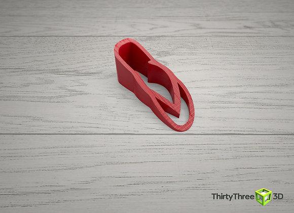 Flip flop door stop, 3D printed