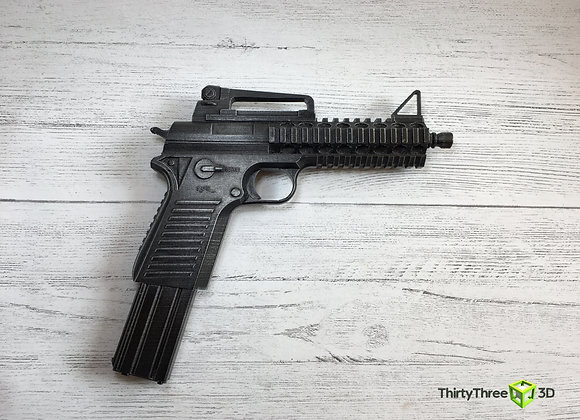 Assault Pistol, 3D Printed