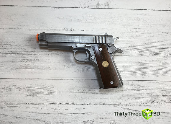 Colt M1911, 3D Printed.