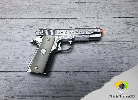 Dean Winchester's Colt Supernatural, 3D Printed,  (Unofficial)