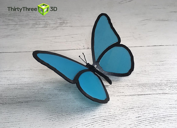 Life is Strange Blue Butterfly, 3d printed, Unofficial.