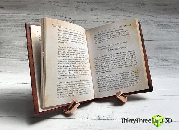 Copper Pipe Tablet / Book stand