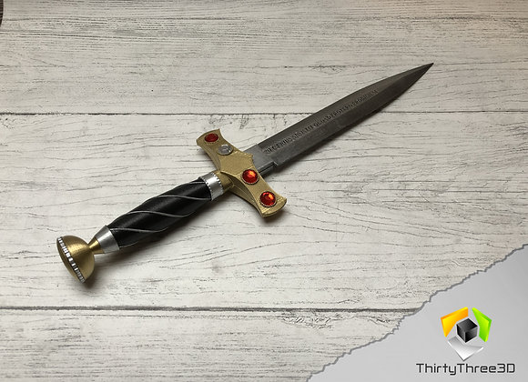 Charmed Dagger, 3d printed, (Unofficial)