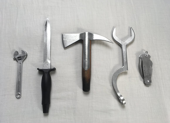 Mad Max Tools/Weapons, 3D Printed, Unofficial