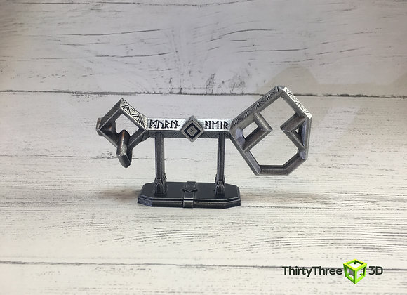 3D Printed Key to Erebor / Thorin's Key, (Unofficial)