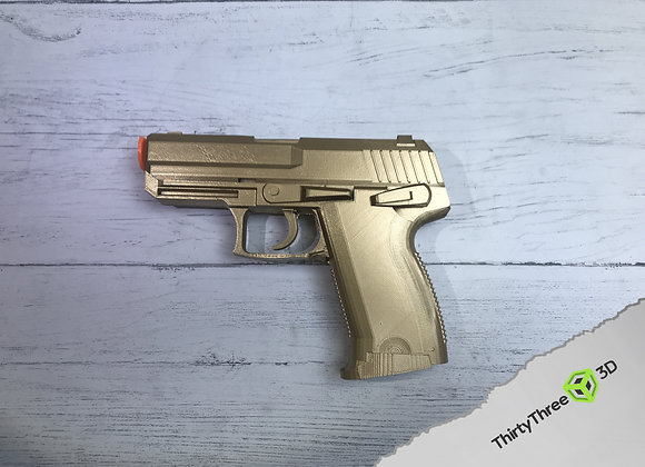 HK USP Compact pistol as used by Jack Bauer 24, 3D Printed, Unofficial
