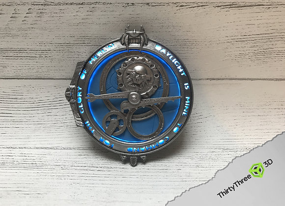 Amulet of Daylight / Eclipse, English, Rechargeable LED, 3d Printed, Unofficial