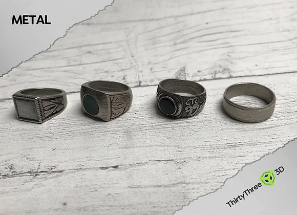Four Horsemen Rings, Supernatural, (Unofficial)