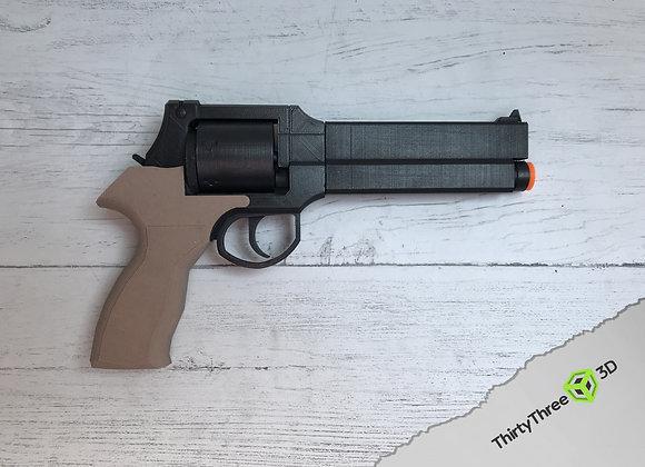 Mateba 2006M Pistol, 3D Printed.