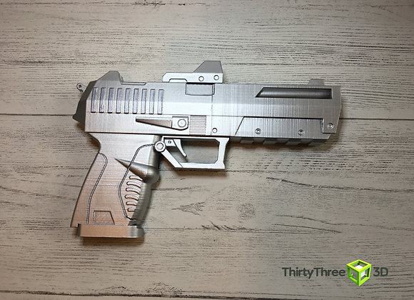 Borderlands Style Pistol, 3D Printed, (Unofficial)