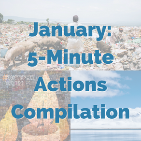 January: 5-Minute Action Monthly Recap