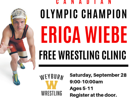 FREE KIDS' WRESTLING CLINIC