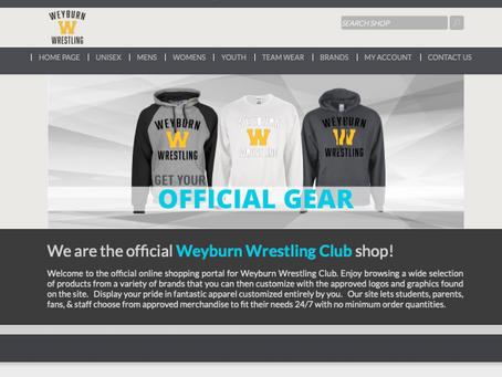 New online team shop.