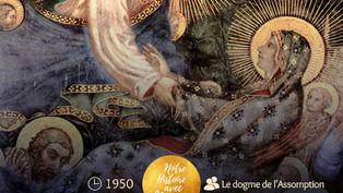 """Homélie pour l'Assomption et bonne fête à """"toutes"""" les Marie (s) !"""
