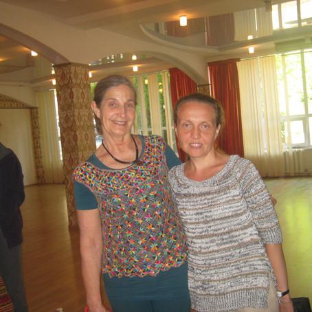 Семинар Франсуазы Фридман, преподавателя перинатальной йоги и основательницы Birthlight