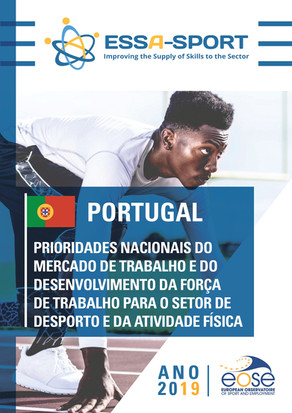 Emprego no desporto em Portugal cresce 57,8%