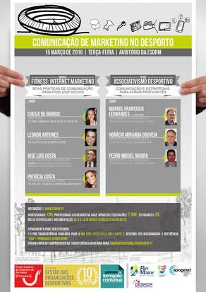 Jornadas de Comunicação de Marketing no Desporto - Internet Marketing no Fitness e Associtivismo Des