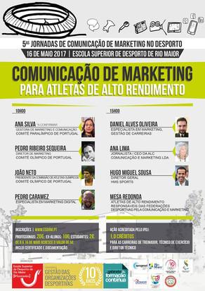 Jornadas de Comunicação de Marketing no Desporto - Atletas de Alta Competição
