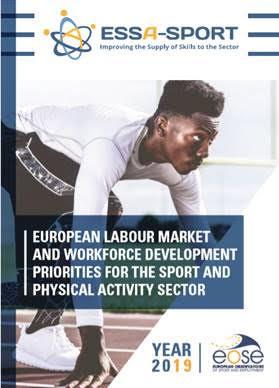 Emprego no desporto cresce 19,2% na UE