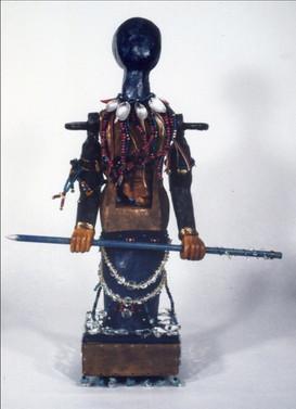 """Warrior Woman #2,"" 1994"