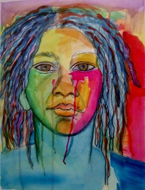 "Untitled Self Portrait,"" 2014"