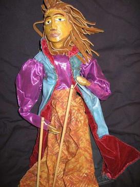 """Mystic Rod Puppet,"" 2000"