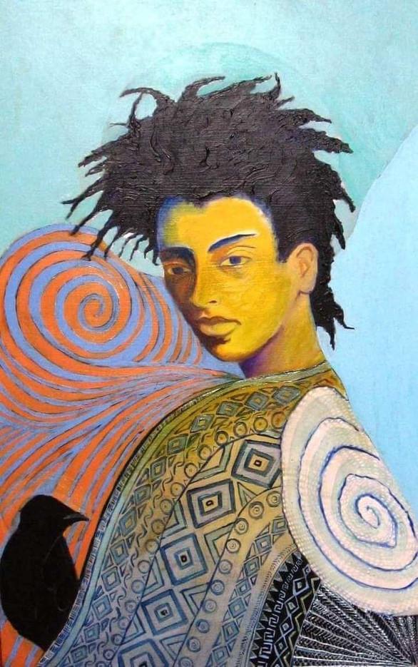 """Spiral Woman,"" 2001"