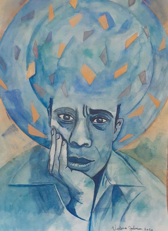 """James Baldwin,"" 2020"