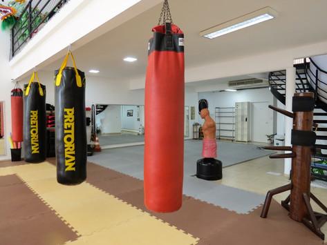 Equipamentos de treino