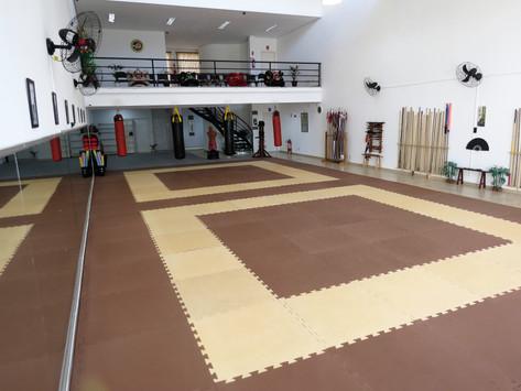 Sala de treino