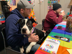 Dogs are welcome at board meetings