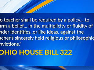 WKBN 27: Ohio bill looking to ban critical race theory could harm transgender students, advocates...