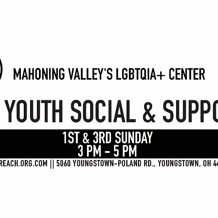LGBTQIA+ Youth Social & Support Group
