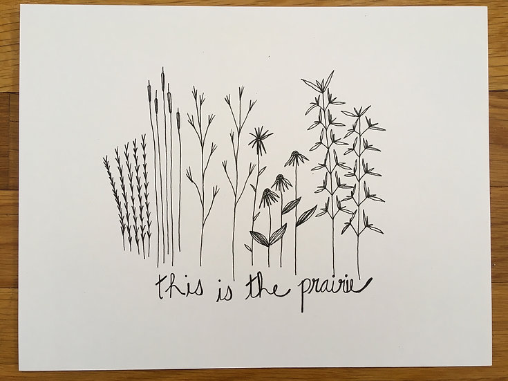 This is the Prairie - Art Print