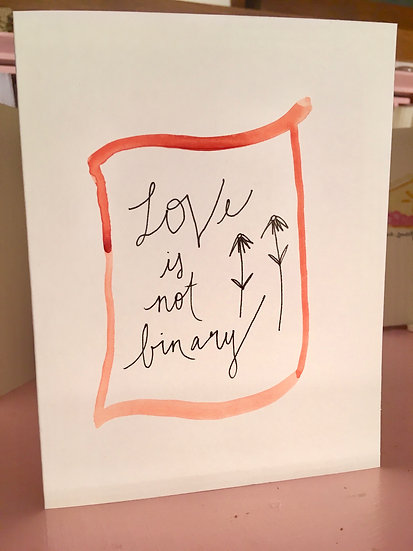 Love Note Set - Hand-painted Watercolor Card Set