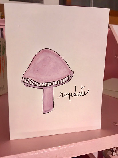Remediate - Hand-painted Watercolor Card Set