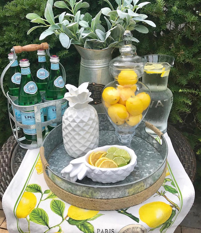 Lemon Bar cart