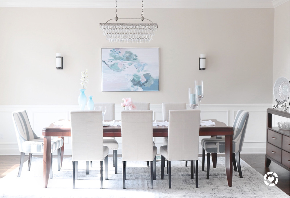 dining room, table chairs