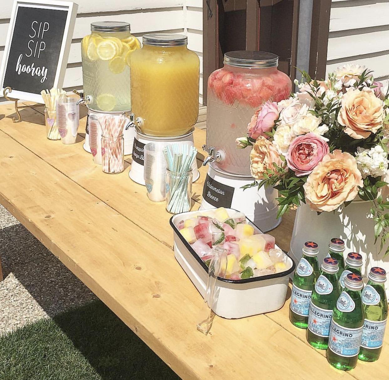 Romantic drink station