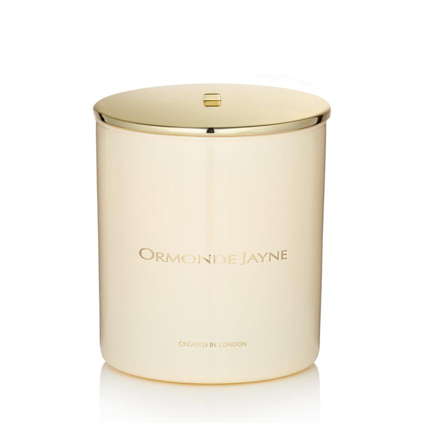 cream candle
