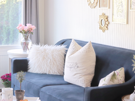 Functional and Stylish: Sun-room makeover