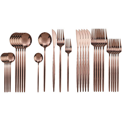 Pretty Cutlery Set 30 pieces for 6 place settings