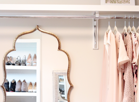 Best ways to organize and decorate a closet