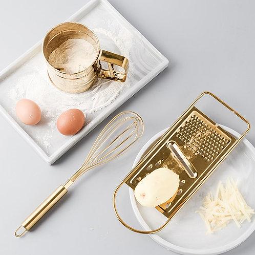 Pretty Gold Kitchen Baking Tool Kit 1pc