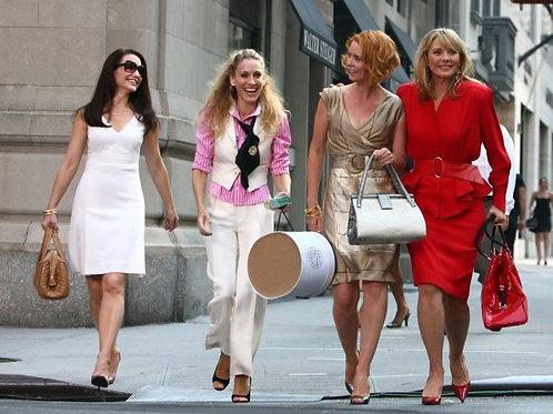Carrie y sus amigas walking tour