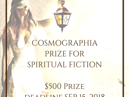 New Contest: The Cosmographia Prize for Spiritual Fiction