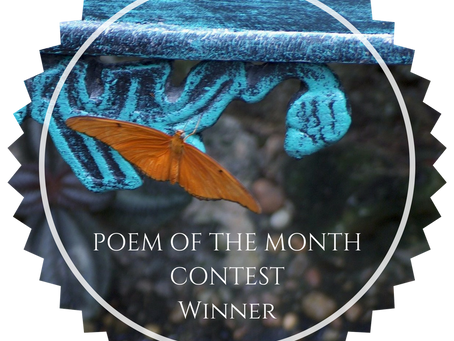 Winner of the July 2018 Poem of the Month Contest, Cynthia Ventresca