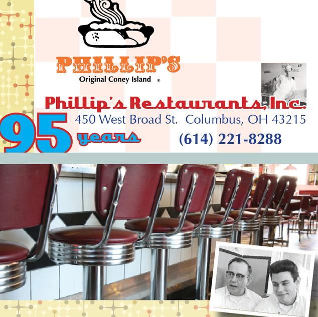 Card - Phillip's Coney Island