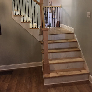 Franklin - Stairway Rebuild