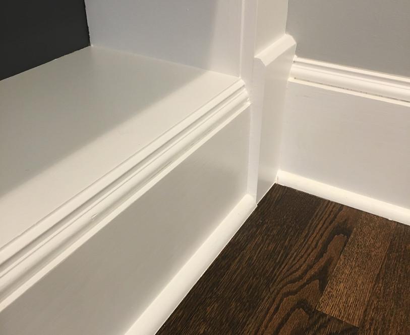 Baseboard and Plinth Block